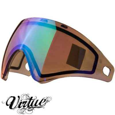 Virtue VIO Paintball Thermal Masked Glass (Chromatic Emerald) | Paintball Sports