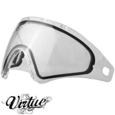 Virtue VIO Paintball Thermal Masking Glass (clear / clear) | Paintball Sports