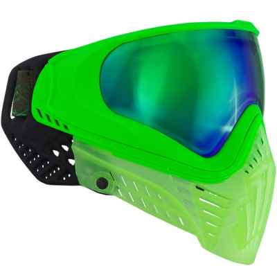 Virtue VIO XS Paintball Mask (Crystal Emerald) | Paintball Sports