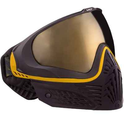 Virtue VIO EXTENDED Paintball Thermal Mask (Black Gold) | Paintball Sports