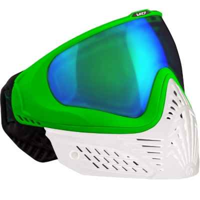 Virtue VIO EXTENDED Paintball Thermal Mask (White Emerald) | Paintball Sports