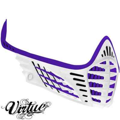 Virtue VIO facemask / mask frame (purple / white) | Paintball Sports