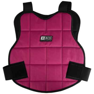 XRCS paintball bust protector / upper body protection (pink) | Paintball Sports