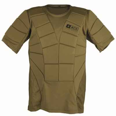 XRCS ProTector Paintball Breastplate (olive) | Paintball Sports