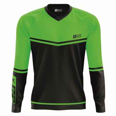 XRCS Paintball Tournament Jersey (black / lime) | Paintball Sports