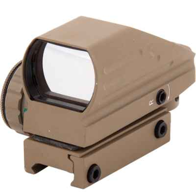 HDR33A Compact Green / Red Dot Sight (20mm Rail) - Tan | Paintball Sports