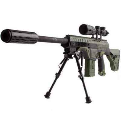 Dye DAM Paintball Sniper Rifle (olive) | Paintball Sports