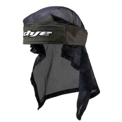 Dye Paintball Head Wrap (Bomber Black / Gray) | Paintball Sports