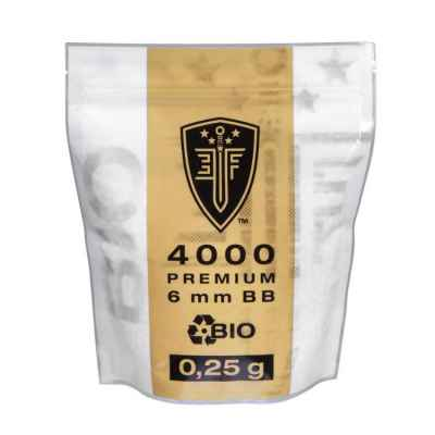 Elite Force BIO Airsoft BB's In Zipper Pouch (4000pcs) 0.25g | Paintball Sports