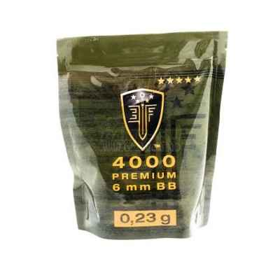 Elite Force Premium Airsoft BB's in Zipper Pouch (4000pcs) 0.23g | Paintball Sports