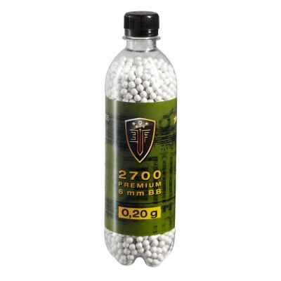 Elite Force Premium Airsoft BB's in the bottle (2700pcs) 0,20g | Paintball Sports