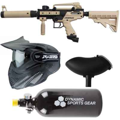 Tippmann Cronus Tactical Paintball economy package / starter package | Paintball Sports