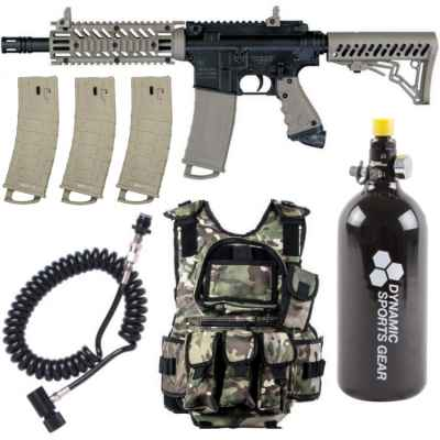 Tippmann TMC MagFed Paintball economy package | Paintball Sports