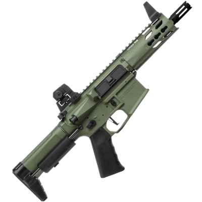 Krytac Trident Mk2 PDW Airsoft S-AEG Foliage Green | Paintball Sports