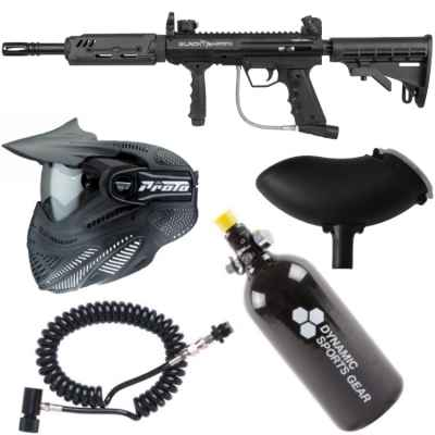 Valken SW-1 Blackhawk TANGO Paintball austerity package | Paintball Sports