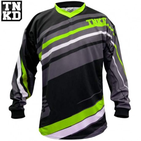 Tanked BASIC Paintball Jersey (black / green) - 2XL | Paintball Sports