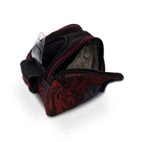 Bunkerkings Supreme Goggle Bag (Red Tentacles) | Paintball Sports