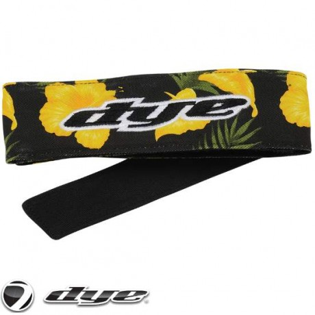 DYE C14 Paintball Head Band / Head Tie (Floral) | Paintball Sports
