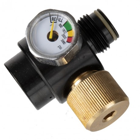 Adjustable Precision Regulator for Paintball HP Systems (300-2000 PSI) | Paintball Sports