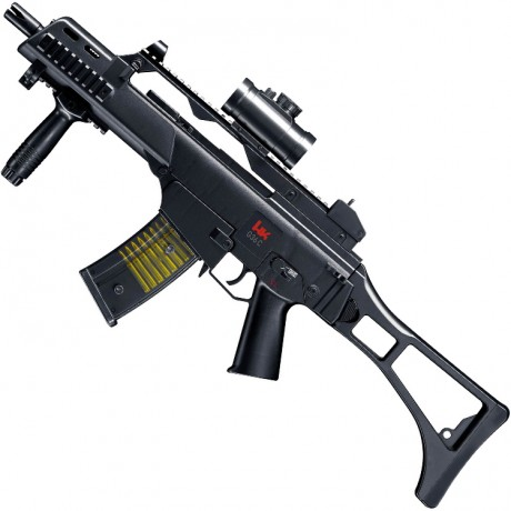 Heckler & Koch G36 C Airsoft assault rifle (black) | Paintball Sports