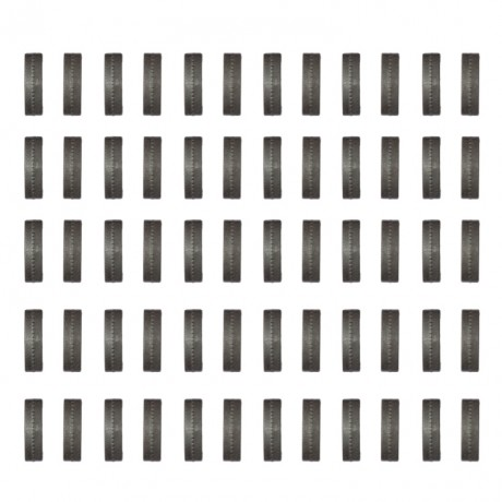 Index Camo Clips for 20mm Weaverrail (pack of 60) - black | Paintball Sports