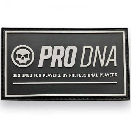LA Infamous Pro DNA Full Patch (Black / White) | Paintball Sports