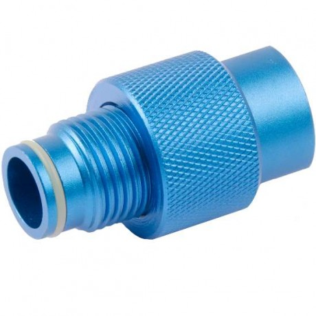 ON / OFF valve for ASA adapter (blue) | Paintball Sports