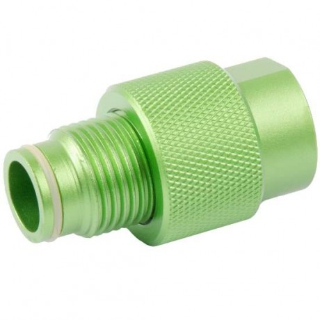 ON / OFF valve for ASA adapter (olive / green)   Paintball Sports