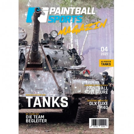 Paintball Sports Magazin - your paintball magazine (issue 04/2021)   Paintball Sports