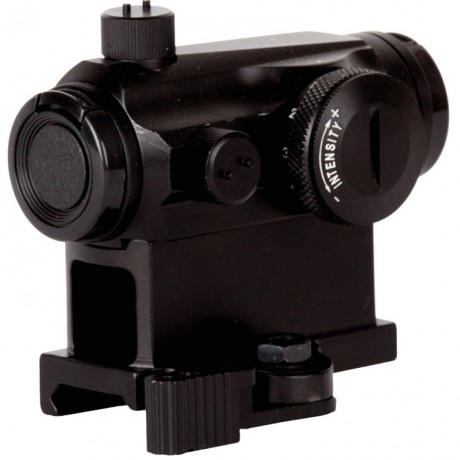 T1 Highrise Tactical Scope with quick release (20mm, black) | Paintball Sports