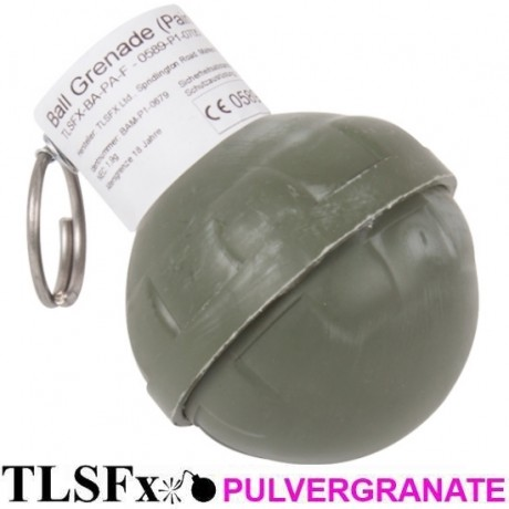 TLSFx Paintball / Airsoft powder grenade with tear-off fuse | Paintball Sports