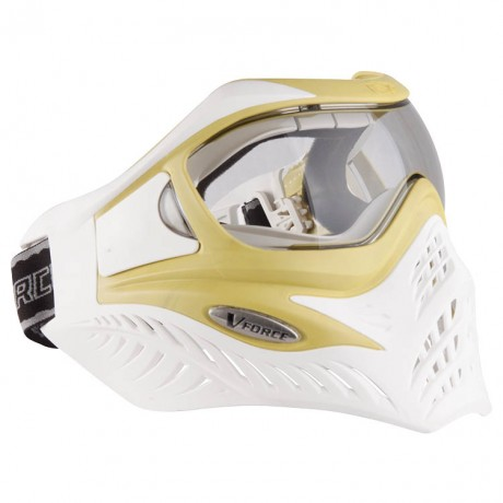 V-Force Grill Paintball Thermal Mask Ltd. Edition white / lime | Paintball Sports