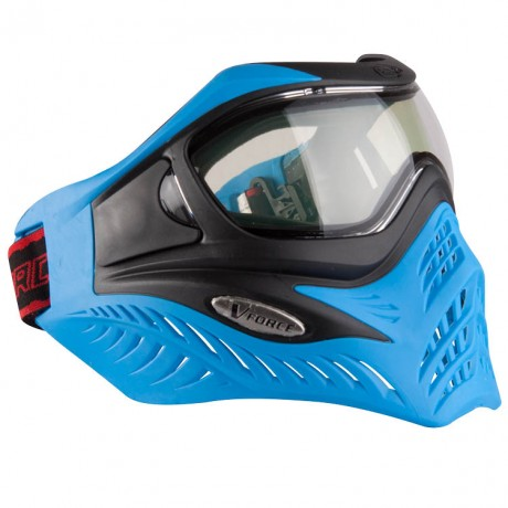 V-Force Grill Paintball Thermal Mask Ltd Edition (Blue / Black) | Paintball Sports