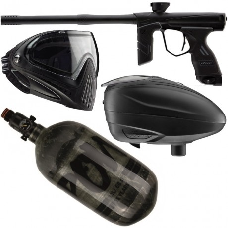 Dye DSR paintball markers austerity package | Paintball Sports