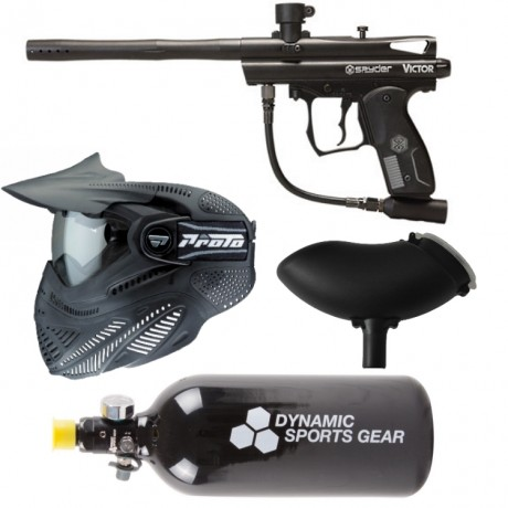Spyder Victor RMF paintball marker economy package / complete set | Paintball Sports