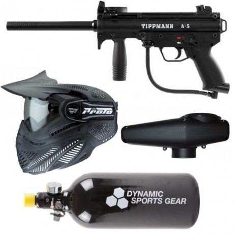 Tippmann A-5 paintball saving package / complete set | Paintball Sports