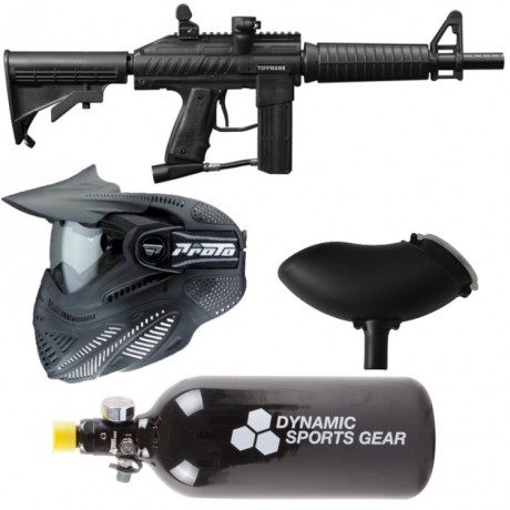 Tippmann Stryker XR1 paintball saving package / starter pack | Paintball Sports